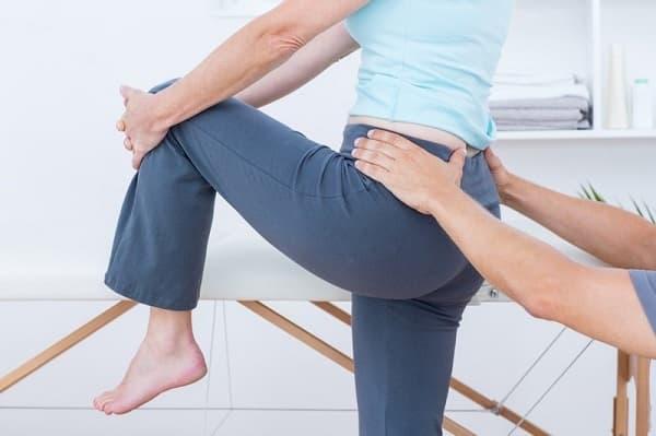 فیزیوتراپی برای درمان درد دنبالچه