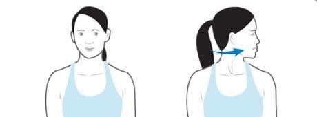 تمرین چرخش گردن مناسب برای آرتروز گردن