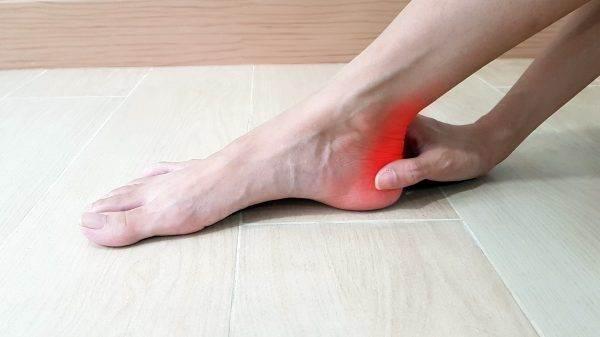خار استخوان علت درد کف پا